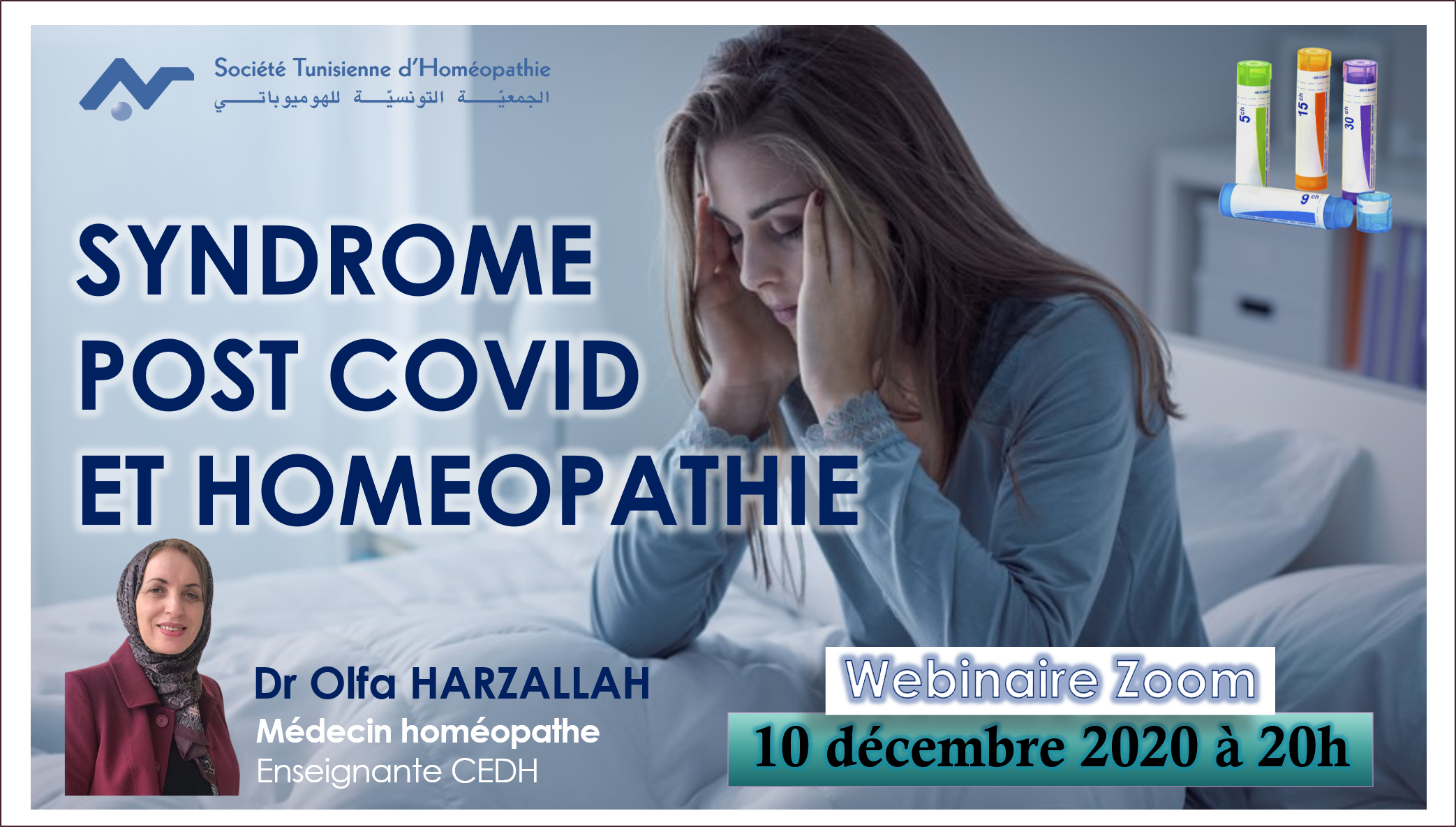 SYNDROME  POST COVID  ET HOMEOPATHIE